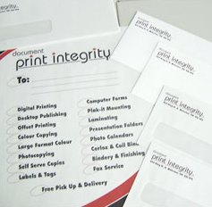 Print Integrity Printing Services Copying Kitchener Waterloo Ontario Canada